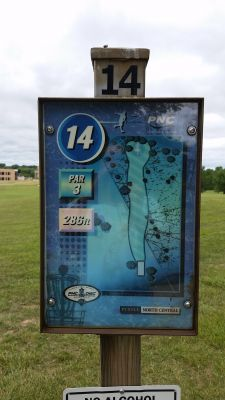Purdue North Central, Main course, Hole 14 Hole sign