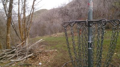 Payson Canyon, Main course, Hole 10 Reverse (back up the fairway)