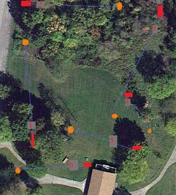Brighton Recreation Area, Main course, Hole 15 Hole sign
