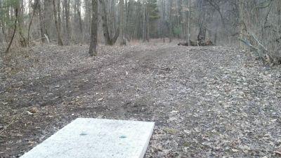 Brighton Recreation Area, Main course, Hole 9 Tee pad