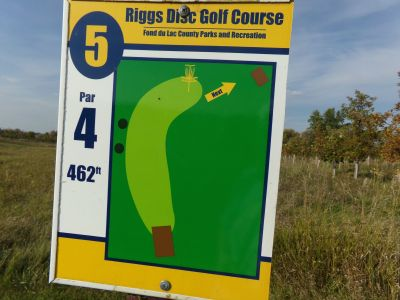 Riggs Park, Main course, Hole 5