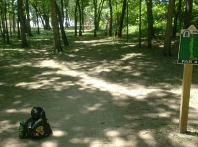 Joshua Park, Main course, Hole 8 Tee pad