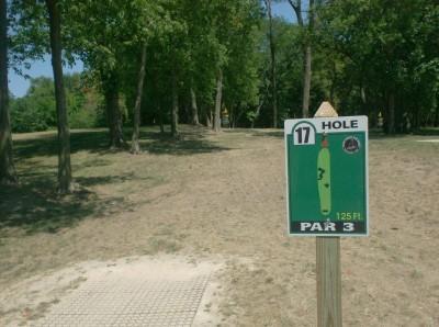Joshua Park, Main course, Hole 17 Tee pad