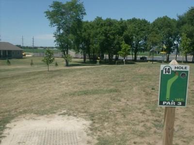 Joshua Park, Main course, Hole 14 Tee pad