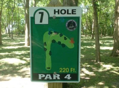 Joshua Park, Main course, Hole 7 Tee pad