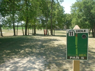Joshua Park, Main course, Hole 11 Tee pad
