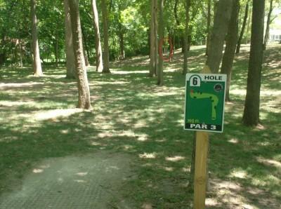 Joshua Park, Main course, Hole 6 Tee pad
