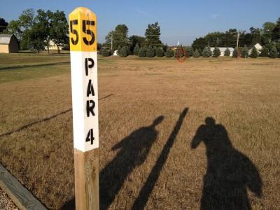 Salem Township Park, Main course, Hole 5 Tee pad