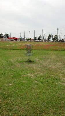 Windwood Presbyterian DGC, Main course, Hole 19 Putt