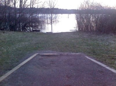 West Thompson Lake, Main course, Hole 14 Tee pad