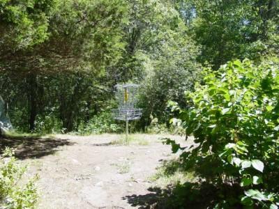 West Thompson Lake, Main course, Hole 1 Putt