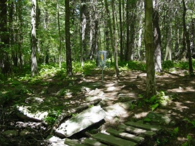 West Thompson Lake, Main course, Hole 5 Putt