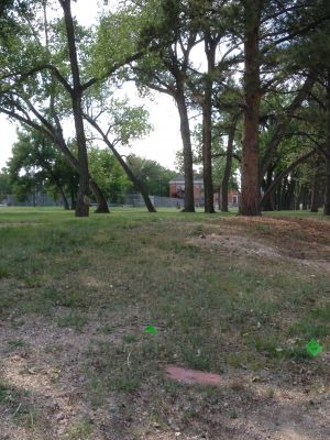 F. E. Warren Air Force Base, Warren DGC, Hole 10 Tee pad