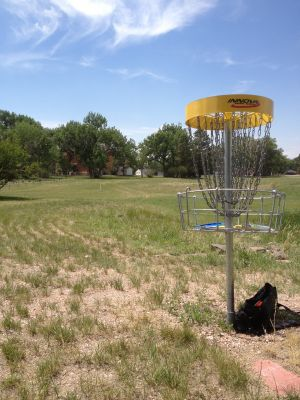 F. E. Warren Air Force Base, Warren DGC, Hole 15 Reverse (back up the fairway)