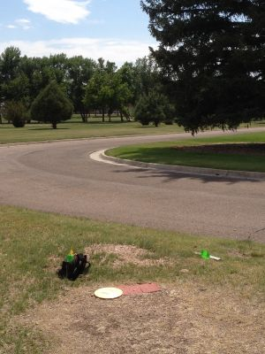 F. E. Warren Air Force Base, Warren DGC, Hole 3 Tee pad