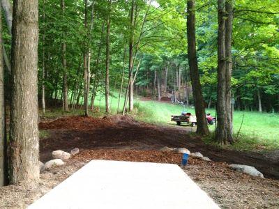 Mt. McSauba Recreation Area, Main course, Hole 1 Long tee pad