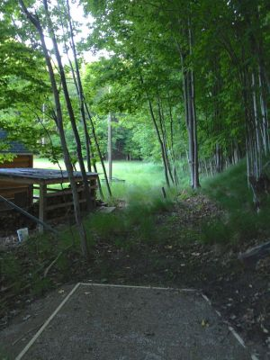 Mt. McSauba Recreation Area, Main course, Hole 11 Long tee pad
