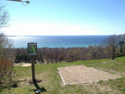 Mt. McSauba Recreation Area, Main course, Hole 6 Long tee pad