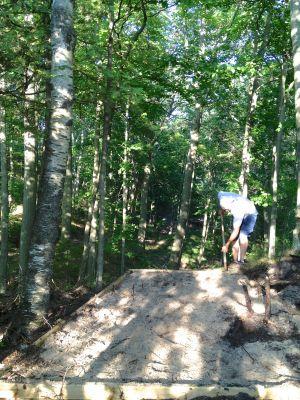 Mt. McSauba Recreation Area, Main course, Hole 9 Long tee pad