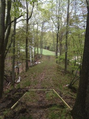 Mt. McSauba Recreation Area, Main course, Hole 5 Long tee pad