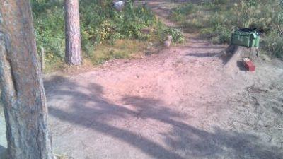 Yellow Banks Park, Main course, Hole 9 Tee pad
