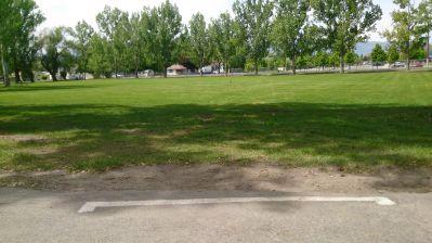 Cache County Fairgrounds, Main course, Hole 4 Tee pad