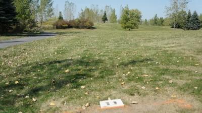 Ile Charron, Parcours Ile Charron (PIC), Hole 11 Long tee pad