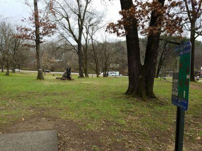 Portland Park, Main course, Hole 4 Tee pad