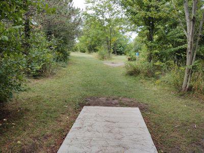 NorthRidge Church, Main course, Hole 12 Long tee pad