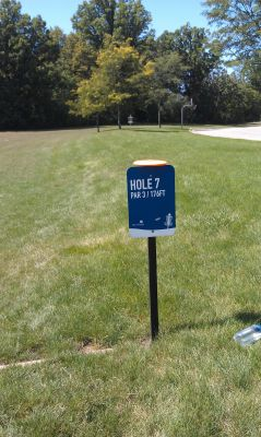 NorthRidge Church, Main course, Hole 7 Tee pad