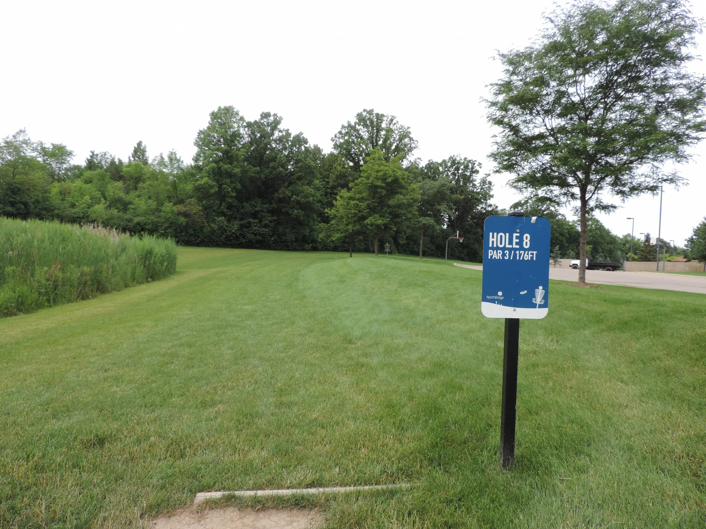 Hole 8 • NorthRidge Church (Plymouth, MI) | Disc Golf Courses | Disc ...