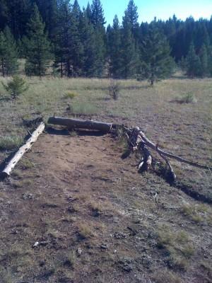 Bear Basin, Main course, Hole 3 Tee pad