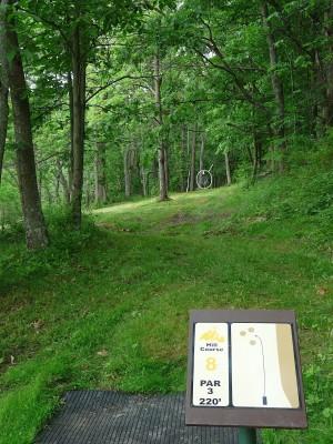 Butler Farm, Main course, Hole 17 Tee pad