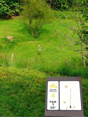Butler Farm, Main course, Hole 4 Tee pad