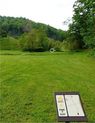 Butler Farm, Main course, Hole 6 Tee pad