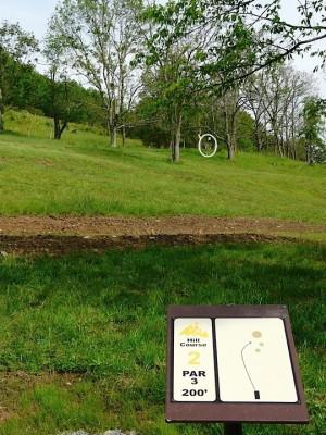 Butler Farm, Main course, Hole 11 Tee pad