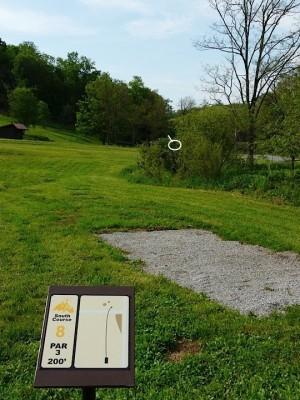 Butler Farm, Main course, Hole 8 Tee pad