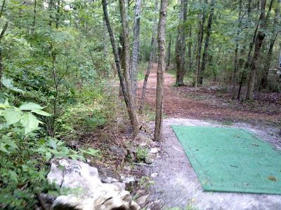Flying Dragon, Main course, Hole 10 Tee pad
