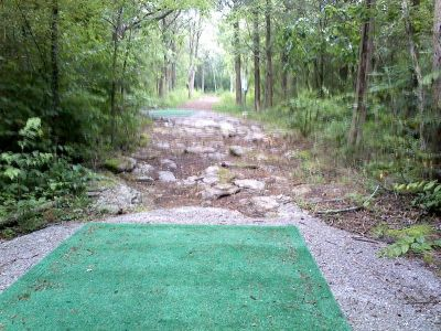 Flying Dragon, Main course, Hole 17 Long tee pad