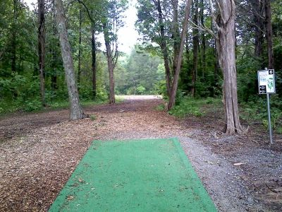 Flying Dragon, Main course, Hole 9 Tee pad
