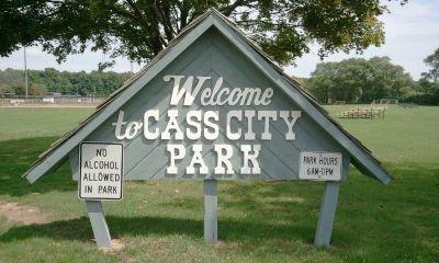 Cass City Park, Main course, Hole 1 Long tee pad