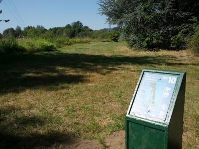 Blue Lake Park, Main course, Hole 10 Tee pad
