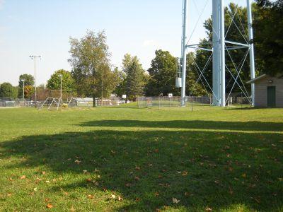 Freeport Park, Main course, Hole 8 Short approach