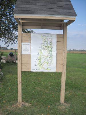 Freeport Park, Main course, Hole 1 Hole sign