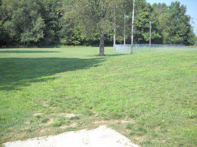 Freeport Park, Main course, Hole 9 Tee pad
