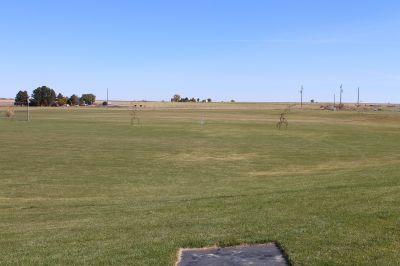 Hazelton DGC, Main course, Hole 4 Tee pad