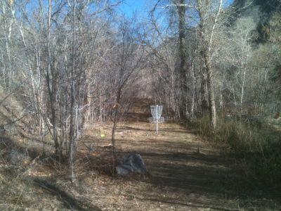 Hobble Creek, Main course, Hole 6 Midrange approach