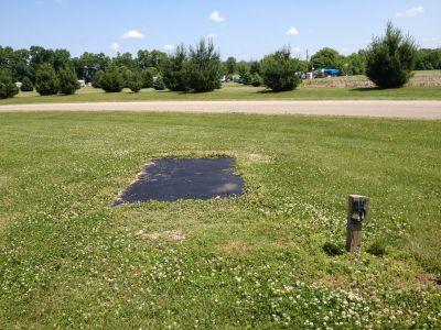 Indian Lake Nazarene Camp, Main course, Hole 5 Tee pad
