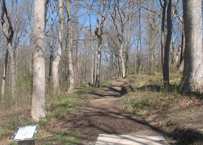 Lincoln Ridge Park, Main course, Hole 17 Tee pad