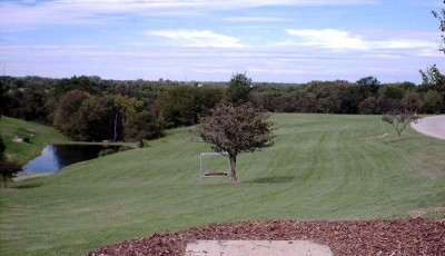 Lincoln Ridge Park, Main course, Hole 24 Tee pad
